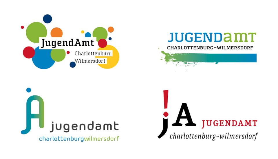 Charlottenburg-Wilmersdorf-Logoentwürfe