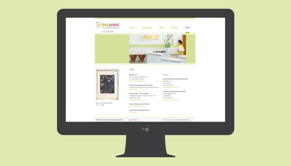 Website-HNO-Neumann-Links