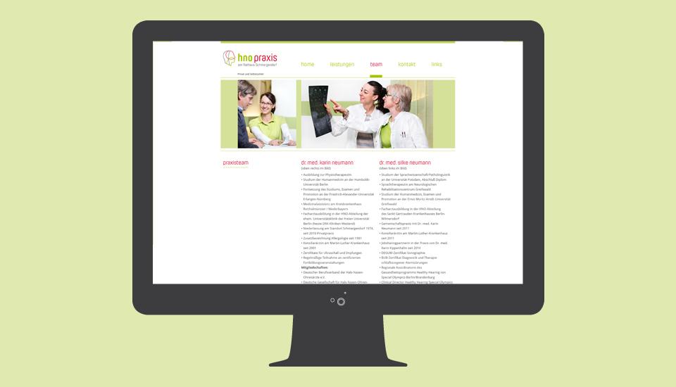 Website-HNO-Neumann-Team