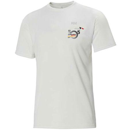 T-shirt mit Event-Logo der Internationalen Deutschen Meisterschaft der 505er 2017