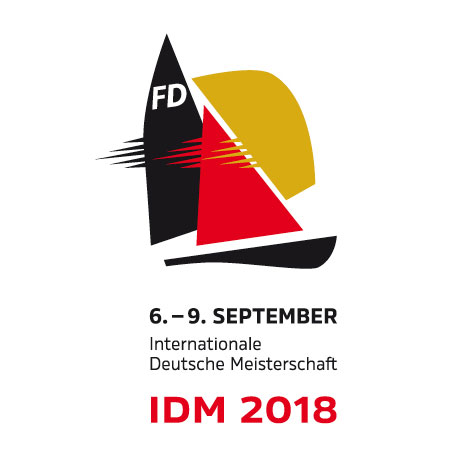 Logo für die Internationale Deutsche Meisterschaft der FD 2018